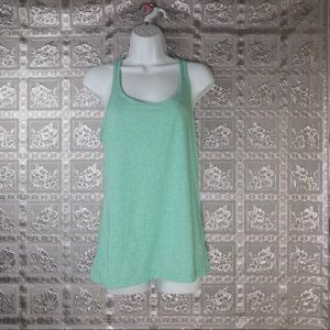 GapFit Women's Light Green Tank Top Size M